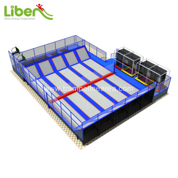 Provide one stop service indoor trampoline business