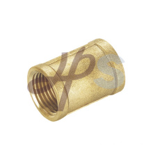 Brass female straight coupling