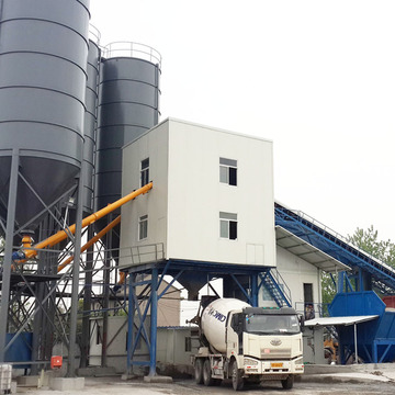 Concrete batching plant model