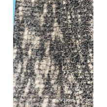 Brush Slub Rib Sweater fabric