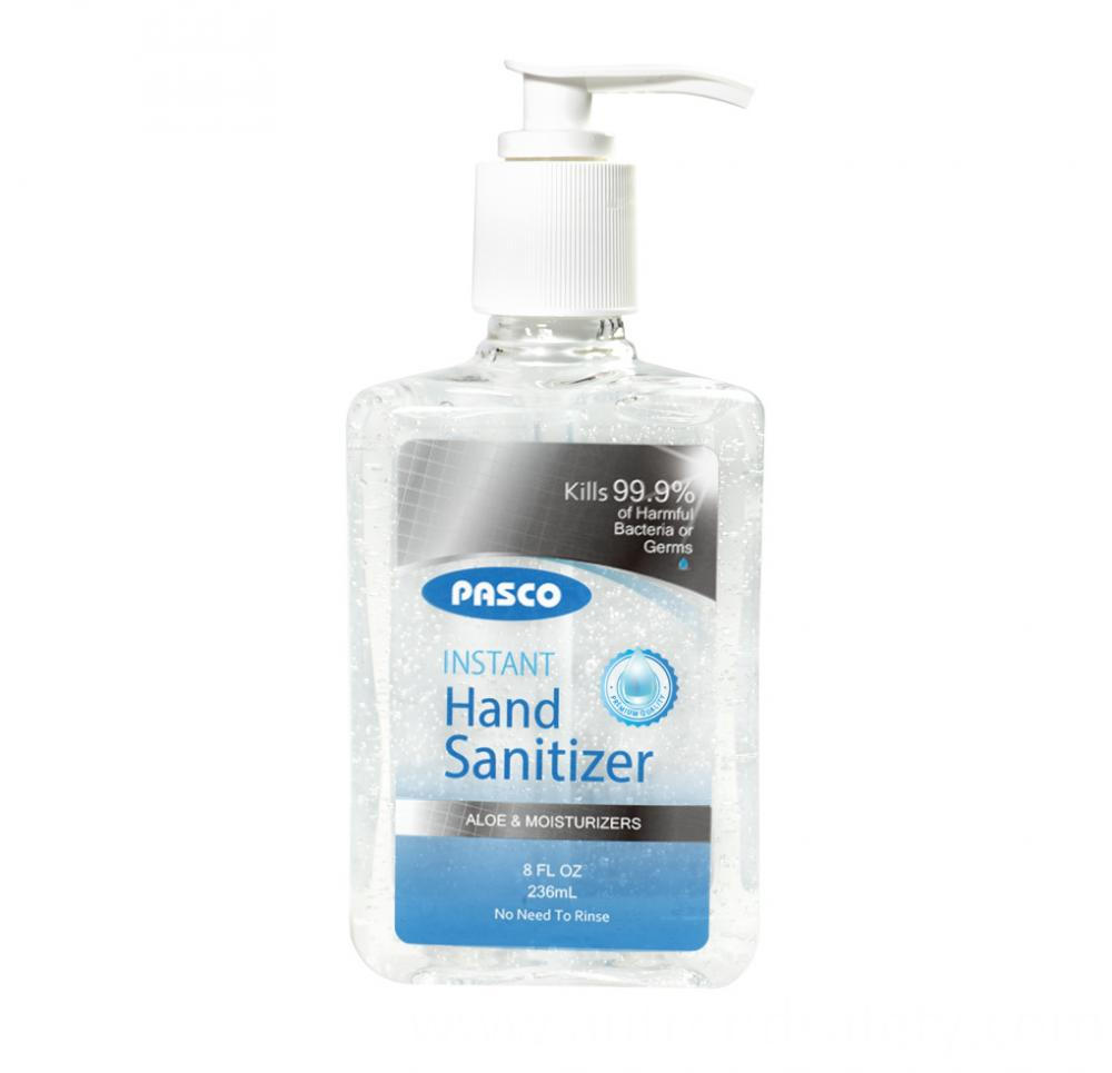 Manufacturer Instant Hand Sanitizer Hand Disinfectant Gel 8oz 236ml Kills 99 9 Germs With Fda Ce 2
