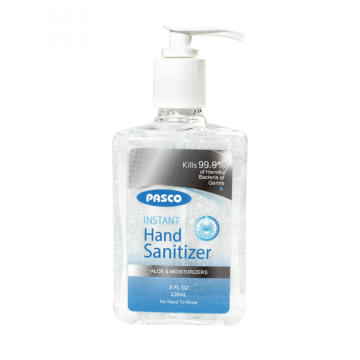 Instant Hand Sanitizer/Hand Disinfectant Gel 8oz/236ml Kills 99.9% Germs with FDA/Ce