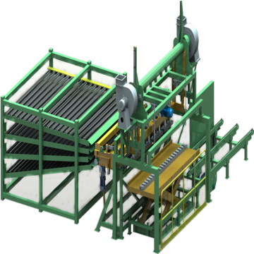 Advanced 4Deck Roller Dryer Machine
