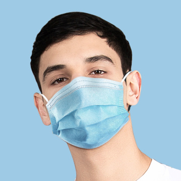 3 Ply medical surgical face mask disposable