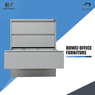 Practical 4 drawers lateral storage steel document cabinet