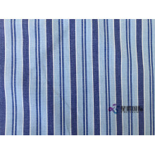 100% Cotton Blue Stripe Fabric