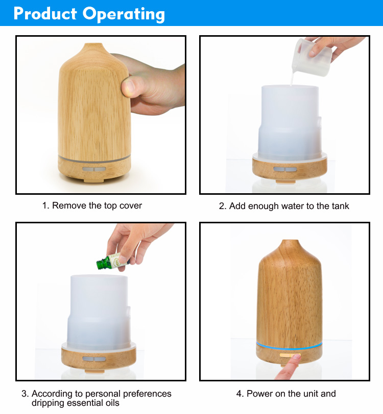 real wood diffuser