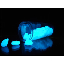Realglow fotoluminescent quartz zuiver blauw 25 mm