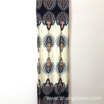 Fashion Design Rayon Twill Printed For Dress