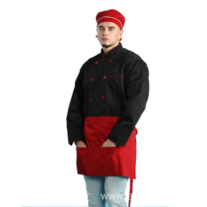 Professional Restaurant Uniform Shirt school uniforms style chef uniform