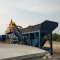 mini mobile concrete batching plant YHZS25
