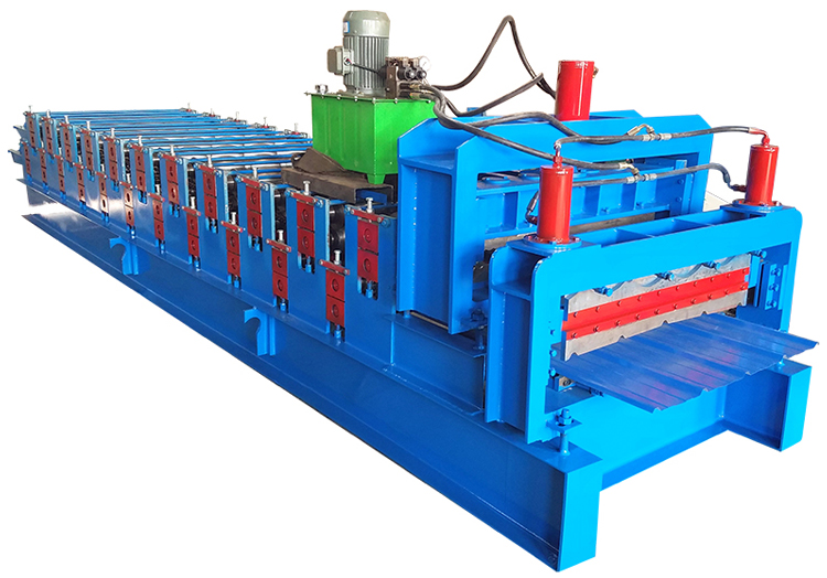Automatic Tile Forming Machine