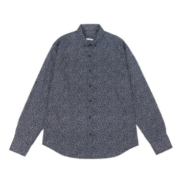 Men's Long Sleeve Woven Shirts in autumn