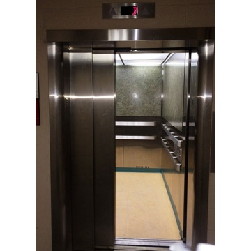 Elevator moves to the next nearest floor during a power outage