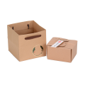 Brown Paper Customized Items Package Foldable Box