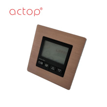 wall-mounted high speed hotel usage thermostat temperature
