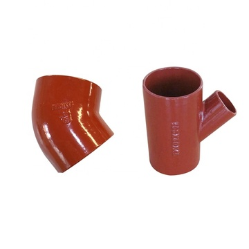 ISO6594/EN877 Cast Iron Hubless Pipe Fittings