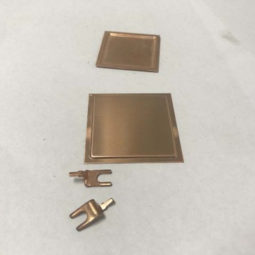 Custom Metal Stamping Brass Sheet Metal Parts