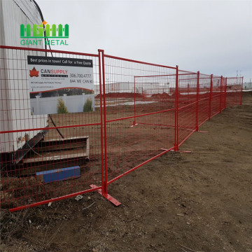Canada welded  temporary fence