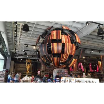 P6 Indoor 6m diameter led sphere display