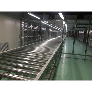 Powered Roller Conveyor TV Assembly Line