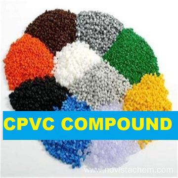CPVC compound for processing tubing and hot wate