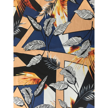 Joint Rayon Challis 30S Air-jet Printing Woven Fabric