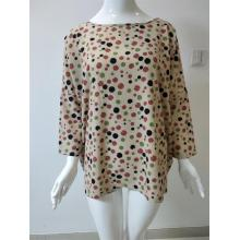 Polyester Printed Round Neck Shirt