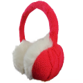 Knitted Warm Headset Earmuff Style Headphones