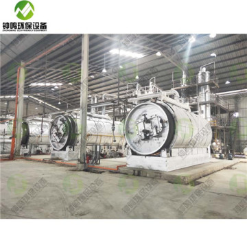 Waste Engine Motor Oil Filtration Treatment System