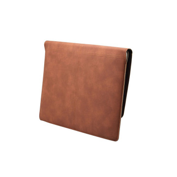 Stylish PU Laptop Sleeve Cover Bag with Card Slot