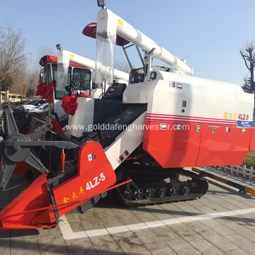 famous big engine threshing price rice combine harvester
