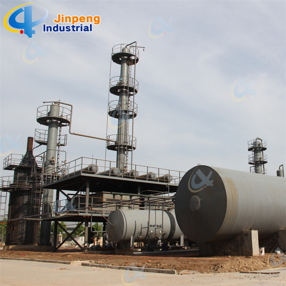 100 TPD Continuous Pyrolysis Oil Distillation Plant