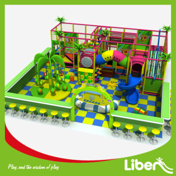 Inside interior play centre system