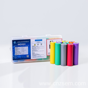 Non-Rechargeable Lithium Polymer Cylindrical Battery BR17490