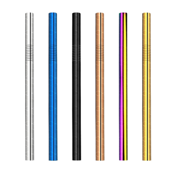 18/10 Trendy Stainless Steel Straw