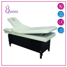 Wood therapeutic massage table