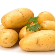 Fresh Potato Yellow Vegetables Delicious