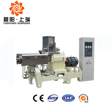 Extruded automatic core filling food machine