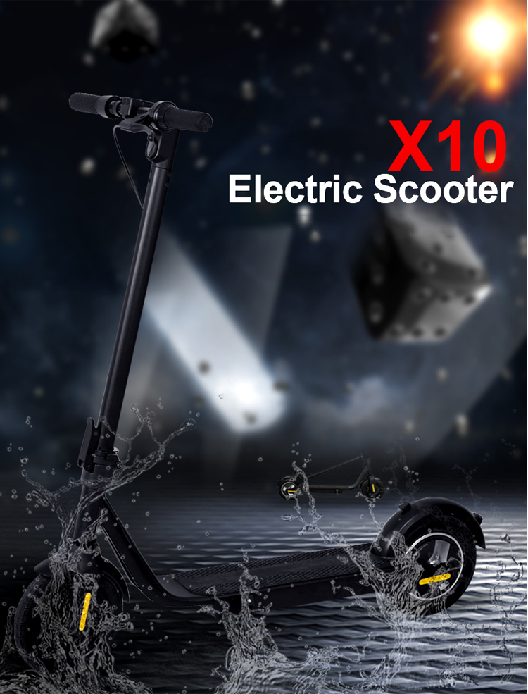 X10 Electric Scooter Details 01