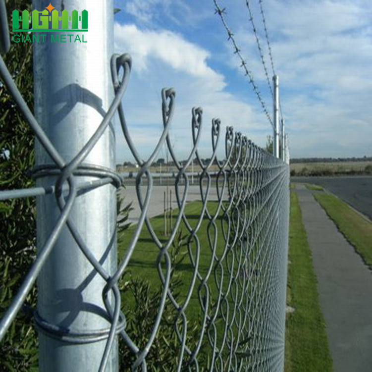 Decorative Chain Link Garden Fence Panels