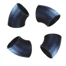 steel seamless 45 elbow  pipe fittings