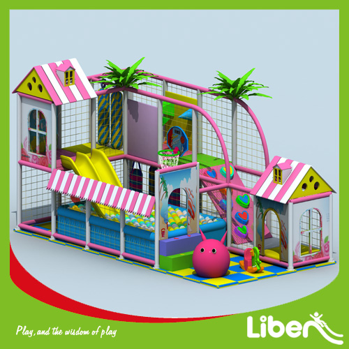 Innovative indoor amusement playground