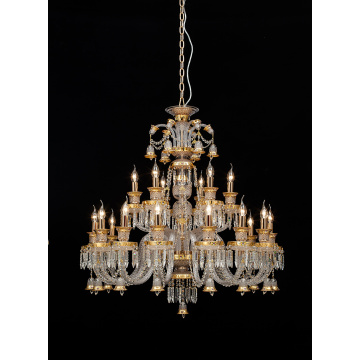 Modern Luxurious Indoor Hotel Project K9 Crystal Chandelier