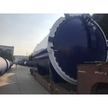 Pneumatic Glass Laminating High Temperature Autoclave