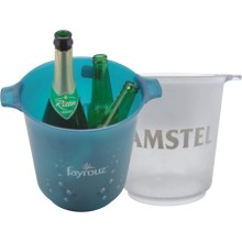 Plastic accessories ice bucket with handles