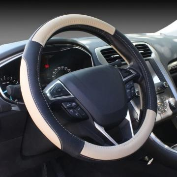 Leather Auto Car Steering Wheel Cover