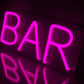 BAR DECORATION NEON LIGHT SIGN