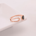 Cheap Simple Rose Gold Cuff Rings For Fingers