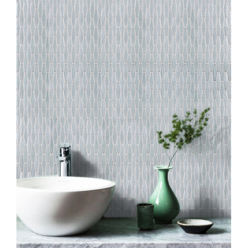 white honey berry glass mosaic Europe